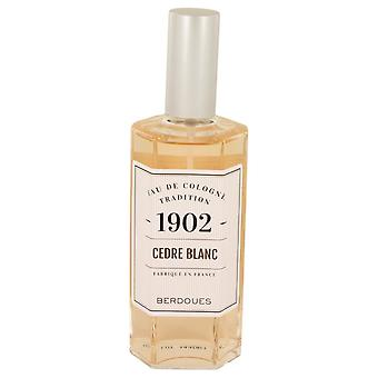 1902 Cedre Blanc Eau De Cologne Spray (unboxed) By Berdoues 4.2 oz Eau De Cologne Spray