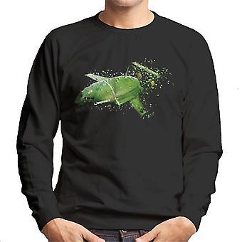 Thunderbirds Shattered Thunderbird 2 Effet Men's Sweatshirt
