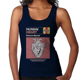 Haynes Human Heart Omistajat Manual Naisten&s Liivi