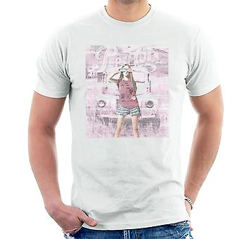 Pepsi Cola Vintage Auto Mädchen Herren T-Shirt