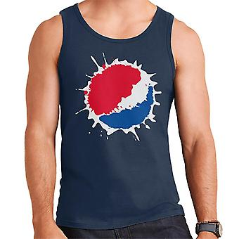 Gilet di Pepsi Splash Logo-uomo