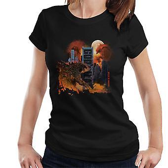 Godzilla City Chaos Women's T-Shirt