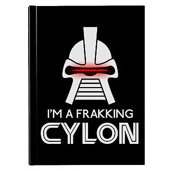 Frakking Cylon Battlestar Galactica Hardback Journal