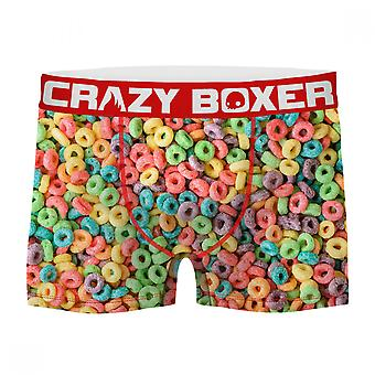 Fruit Loops All Over Men's Boxer Briefs Shorts