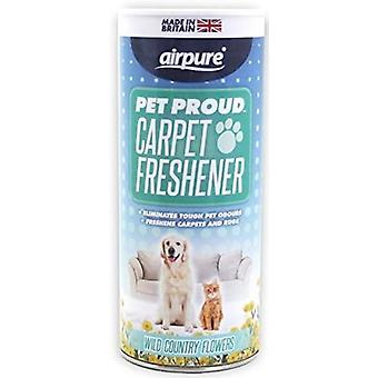 Airpure Pet Proud Carpet Odorizant 350g Flori Wild Country