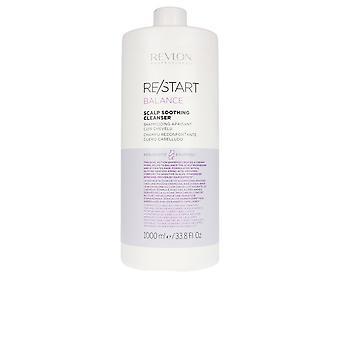 Revlon Re-start Balance Beruhigender Reiniger Shampoo 1000 Ml Unisex