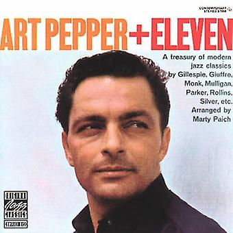 Art Pepper - 11 moderna Jazz klassiker [CD] USA import