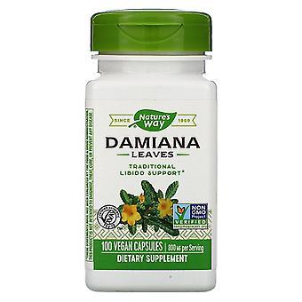 Nature-apos;s Way Damiana laisse capsules végétaliennes