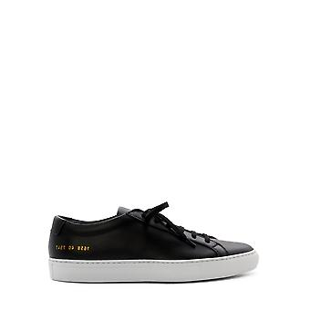 Common Projects 16587547 Men's Black Leather Sneakers