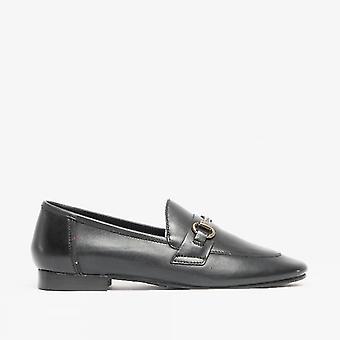 Barbour Sofia Ladies läder loafers svart