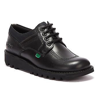 كيكرز ركلة لو فليكس الرجال أحذية سوداء