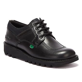 Kickers Kick Lo Flex Mens Black Shoes