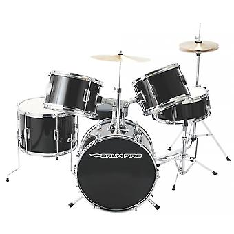 DKJ5500-GB, 5 pièces Junior Drum Set, Gloss Black