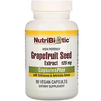 NutriBiotic, Grapefruit Seed Extract with Echinacea & Artemisia Annua, High Pote