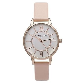 Olivia Burton Watches Ob15wd28 Wonderland Pink & Rose Gold Watch
