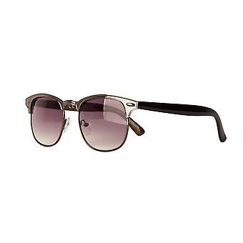 النظارات الشمسية Unisex Cat.2 الدخان الأسود / الأرجواني (& نقلا عن amm19111b & quot;)