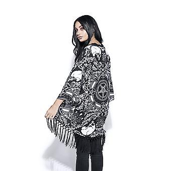 Blackcraft kült - barok - kadın's kimono