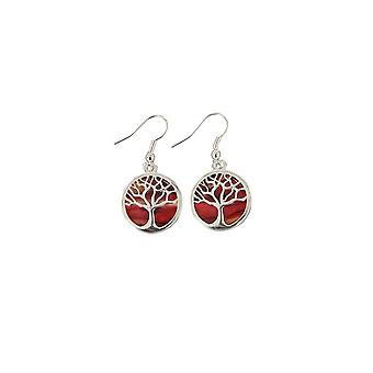 Heathergems Tree Of Life Plated Earrings