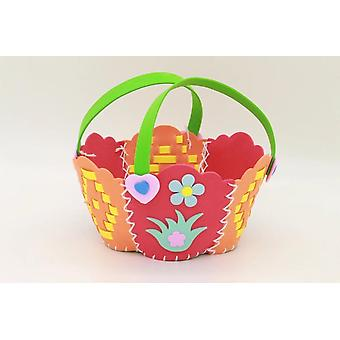 Handmade Woven Paste Basket Childen Toy Handicrafts