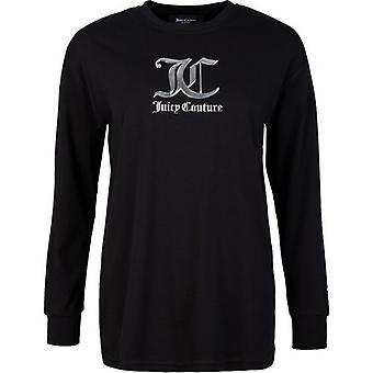 Juicy Couture June Boyfriend Fit Metallinen Logo T-paita
