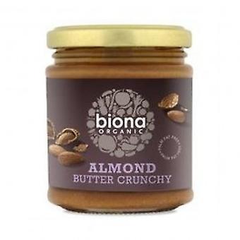 Biona - Almond Butter - Crunchy Org 170 g