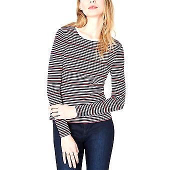 Maison Jules | Striped Crew-Neck Sweater