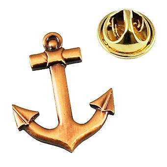 Ties Planet Anchor Sailing Yachtsman Sailors Metal Lapel Pin Badge