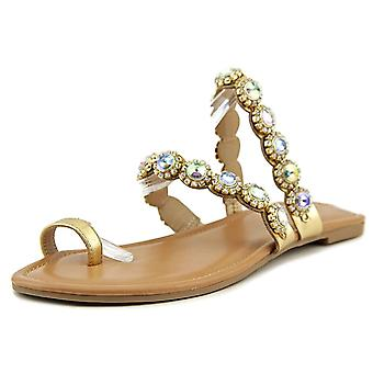 Thalia Sodi Womens joya Split teen Casual schuif sandalen