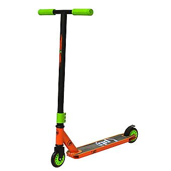 PB Stunt SCRATCH Green-Orange Scooter