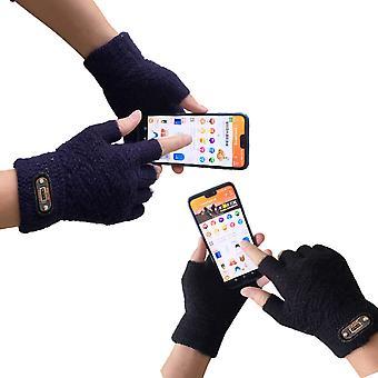 Männer's fingerlose Handschuhe