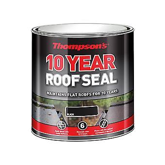 Ronseal Thompson's Roof Seal Black 4 Litre RSLHPRSBL4L