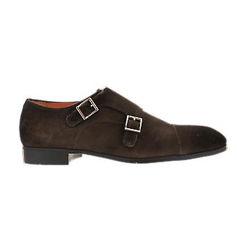 Santoni DOPPIA FIBBIA PUNTINA PEACH Bruin MGSI14549SMOIPMST55BROWN shoe