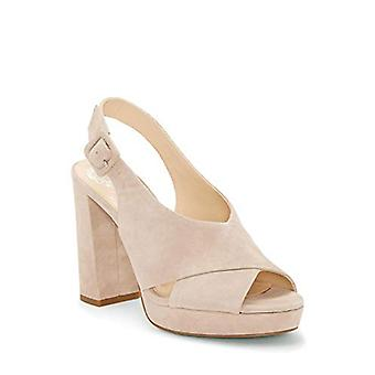 Vince Camuto Femmes Javasan Suede Open Toe Casual Slingback Sandales