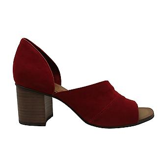 1. State Women's Shoes Gretta Leather Open Toe D-orsay Pompes