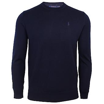 Ralph lauren classico men's navy jumper