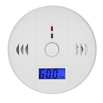 Detektor oxidu uhelnatého / senzor plynu LCD displej výstražný alarm domácí bezpečnost