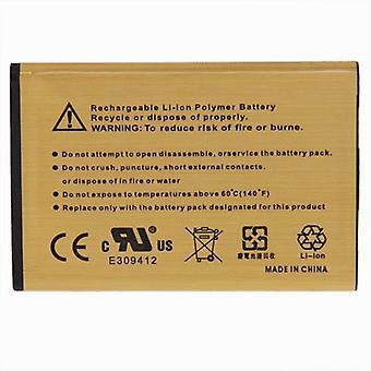 BL-44JN 2450mAh batería de negocio de oro de alta capacidad para LG MS840 / P970 / L5