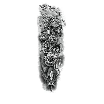 Waterproof, Temporary Full Arm Tattoo Sticker