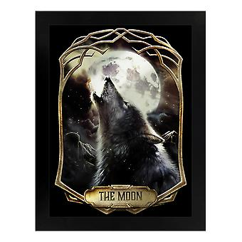 Deadly Tarot The Moon Mirrored Plaque