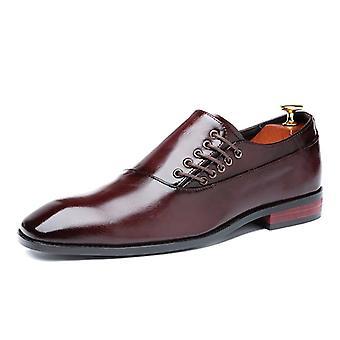 Muoti Business Mekko Miesten Klassinen Nahkapuvut Kengät