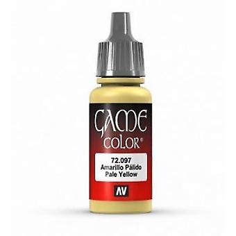 Vallejo Game Color 17ml Acrylic Paint 97 Pale Yellow