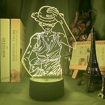 Anime Figure Decor Desk Lamp, Optic Acrylic Panel