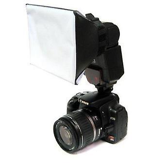 Mini universele studio soft box flash diffuser voor canon, nikon, olympus, pentax, sony, sigma, minolt