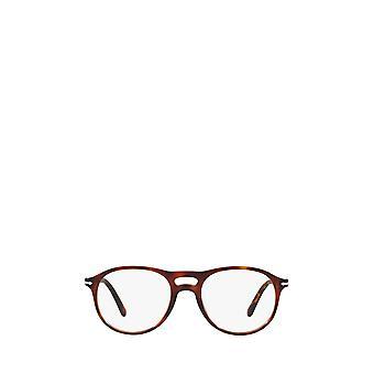 Persol PO3202V havana male eyeglasses