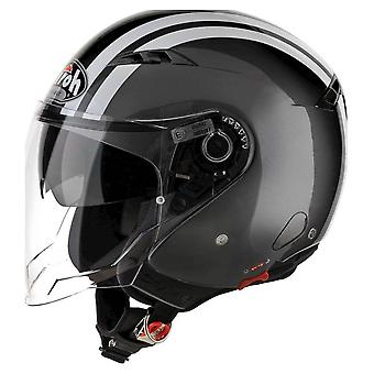 Airoh Helm City One Jet - Flash Antraciet Gloss