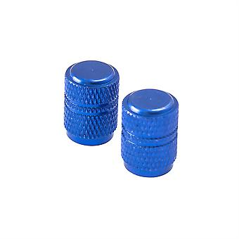 Bike It Round Valve Caps - Blue