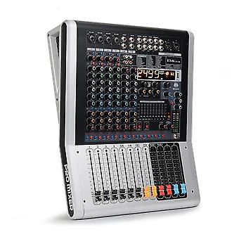 Channel Audio Mixer With Band, Dual Effects Usb Bluetooth Aux Recording Rca