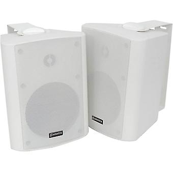 |High Quality Stereo Speakers Supplied In Pairs|90W Max|White
