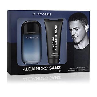 Men's Perfume Set Mi Acorde Alejandro Sanz EDT (2 pcs)