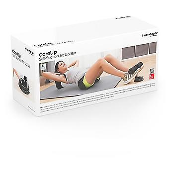 InnovaGoods CoreUp Suction Cup Abdominal Support Bar + Exercise Guide